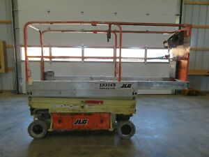 2010 Jlg 1930es 19 Electric Scissor Lift Aerial Manlift Platform Skyjack Iowa