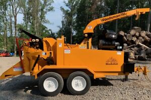 Woodsman Model 790 Chipper With Only 840 Original Hours 2729