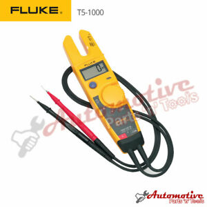 Fluke T5 1000 Voltage Current Continuity Tester Genuine Uk European Edition
