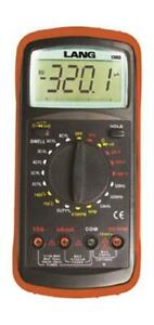 Multimeter Automotive Digital Multimeter Lcd Readout Aa Battery Power Supply Nyl