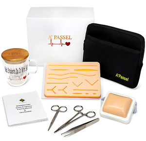 Suture Practice Kit Includes Injection And Suturing Pad Gift Boxed For Medical