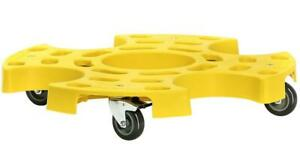 Tire Dolly Tire Taxi Plastic Yellow 265 Lbs Max Load Each