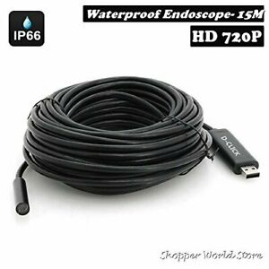 Pipe Inspection Camera Hd 720p Usb Endoscope Video Sewer Drain Waterproof