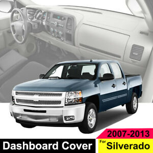 Black Carpet Dash Cover 2 Glove Boxes For Gmc Sierra 1500 2500hd 2007 2013