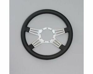 Lecarra Mark 9 Double Slot Steering Wheel 14 Dia 4 Spoke 1 25 Dish 96201