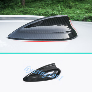 Real Carbon Fiber Roof Shark Fin Antenna Cover Trim For Bmw X3 G01 X4 G02 18 19