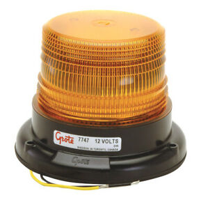 Grote 77473 Led Yellow Permanent Mount Mighty Mini Led Strobe Light