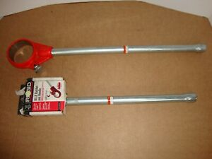 New Ridgid 38540 00 r 30118 12 r Pipe Threader Ratchet Heads W Handles