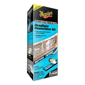 Meguiar s G2970 Two Step Headlight Restoration Kit Headlight Plastic Restorer