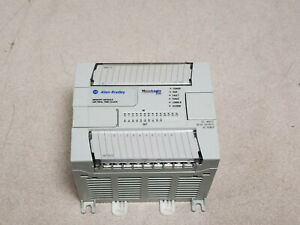 Allen Bradley Micrologix Plc Controller 1200 1762 l24bwa Used Tested Working