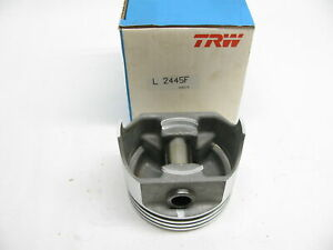 X1 Trw L2445f Std Engine Piston For Various 77 80 Pontiac 301 V8