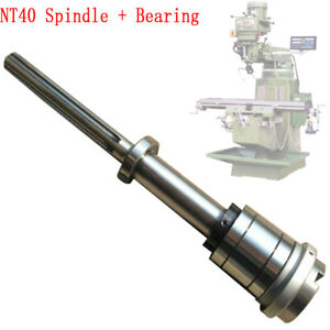 1set Milling Machine Nt40 Spindle Bearings Assembly For Most Milling