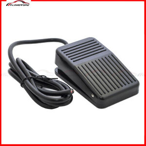 1 Pcs Foot Switch 10a Spdt No Nc Electric Power Pedal Momentary New Cnc New Us