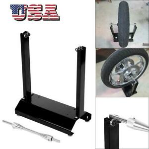 Motorcycle Wheel Balancer Balancing Stand Maintenance Rack Aluminum