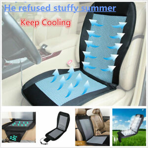 Usa 12v Car Seat Cushion Cover Cooling Air Ventilated Fan Conditioned Cooler Pad