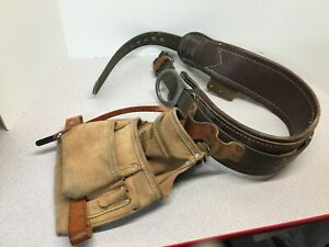 Buckingham Lineman s Utility Belt With Tool Pouch Size 30 P n 1958 m