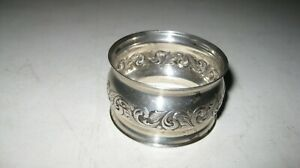 Towle Old Master Sterling Silver Round Napkin Ring