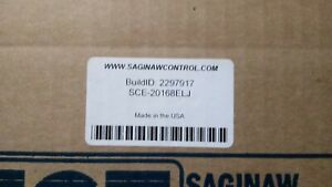 New Saginaw Controls Sce 20168elj Enclosure Electrical Box