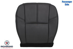 2010 2011 Chevy Avalanche Lt Z71 passenger Side Bottom Leather Seat Cover Black