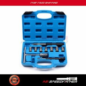 Diesel Injector Seat Cutter Set With 15mm 21mm Reamers For Bosch Ford Bmw