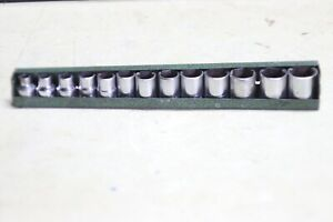 Sk 3 8 Inch Drive Metric Socket Set 13 Pieces 7mm 19mm Usa