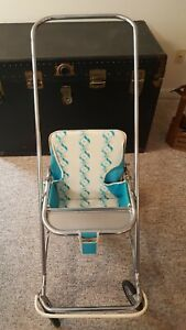 Vintage 1950 S Or 60 S Taylor Tot Baby Stroller Fold Up Buggy