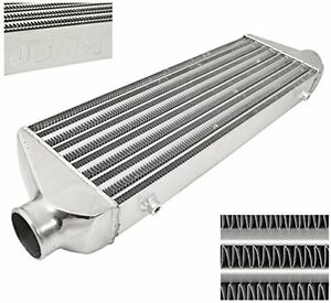 28 X 7 X 2 5 Universal Tube And Fin Aluminum Front Mount Intercooler Fmic