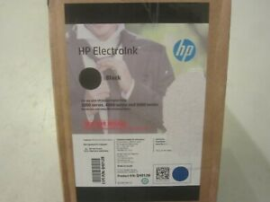 Oem Hp Indigo Case Of 10 Cans Electroink Black Q4012b New