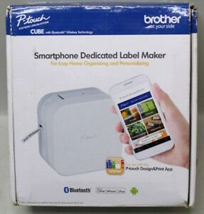 new Open Box Brother P touch Smartphone Dedicated Label Maker Pt p300bt