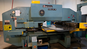 Amada Vela Ii 305050 30 Ton Turret Punch Press