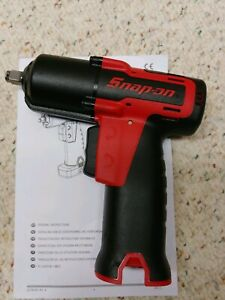 Snap On ct761 3 8 Drive microlithium 14 4 Volt Impact Wrench tool Only new
