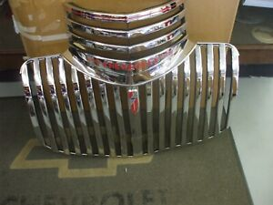 1941 46 Chevy Truck Grille Orig Newly Restored And Triple Plated L K