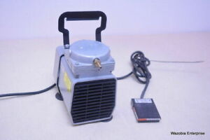 Gast Air Pump Model Dol 701 aa With Foot Switch