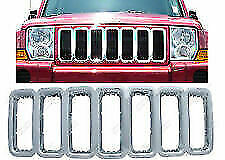 2005 2011 Jeep Commander Grille Overlay Chrome Plated New Iwcgi 24