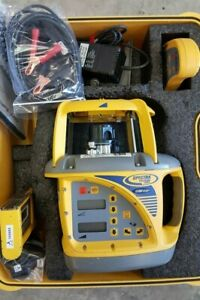 Spectra Precision Trimble Gl722 Machine Control Dual Grade Slope Laser Level