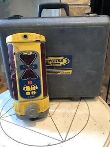 Spectra Lr30 Machine Control Laser Receiver Lr30w Great Price