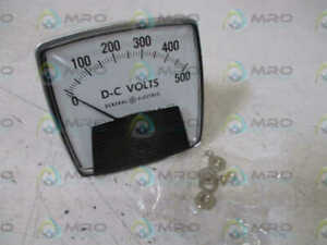 General Electric 50 162011sfsf2 Panel Meter 0 500 Psi New No Box