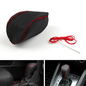 Leather Gear Shift Knob Cover At For Toyota Highlander Crown Camry Corolla Us Us