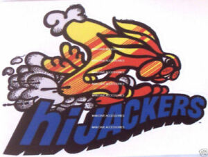 Hijackers Air Shocks Vinyl Decal Sticker Mopar Ford Gm 4245