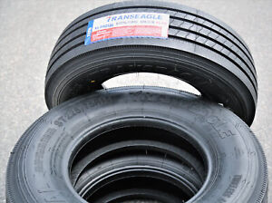 2 New Transeagle All Steel St Radial St 225 75r15 Load G 14 Ply Trailer Tires