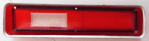 1972 Plymouth Fury 1 11 Used Left Lh Tail Light Lens 3587077 72pl