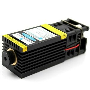 Oxlasers 2 5w 3w 5w 7w 450nm Focusable Blue Laser Module Laser Engraver P New