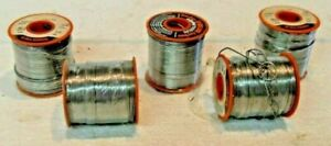 1 Lb Solder 63sn 37pb Dia 0 040 5 Ct Lot 5 Lbs Total