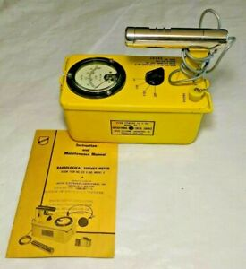 Civil Defense Victoreen Cdv 700 6 Geiger Counter survey Meter parts Repair