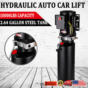 220v Car Lift Hydraulic Power Unit Auto Lift Hydraulic Pump Lift Gates 60hz New