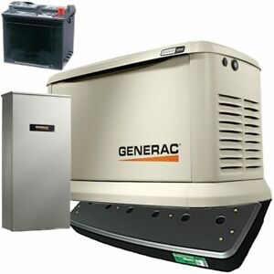 Generac Guardian reg 22kw Standby Generator System 200a Service Disconnect