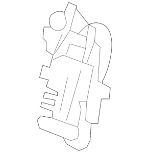 Oem Genuine Gm Front Seat Lumbar Support Lh 10 14 Cadillac Chevrolet Gmc 2098740