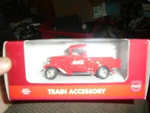 COCA-COLA-TRAIN ACCESSORY 1930'S FORD DIE-CAST TRUCK - #K-94500 (1ST) K-LINE NEW