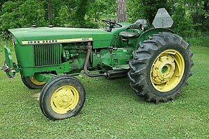 1971 John Deere 1020 Farm Tracker 40 Horse Power 5 23