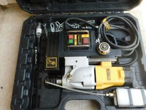 Dewalt Dwe1622k 2 Speed Electromagnetic Mag Magnetic Drill With Bits